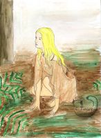 Ayla In a Forest-Mene by The-Ninth-Cave