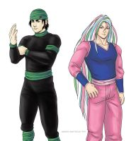 Toriko: Coco and Sunny by swiftgold