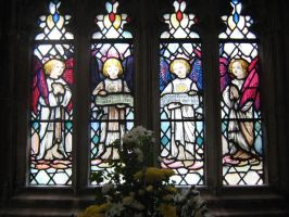 Gloucester Cathedral: Window by angelofmusicuk