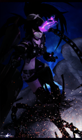 |Insane Black Rock Shooter| by Emy-san