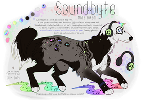 OC: Soundbyte by c-Chimera