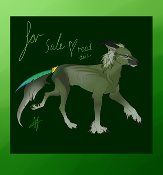 Forest guardian - adopt (sold) by 86-shadesofblue
