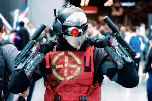 Deadshot at NYCC by ohRocco