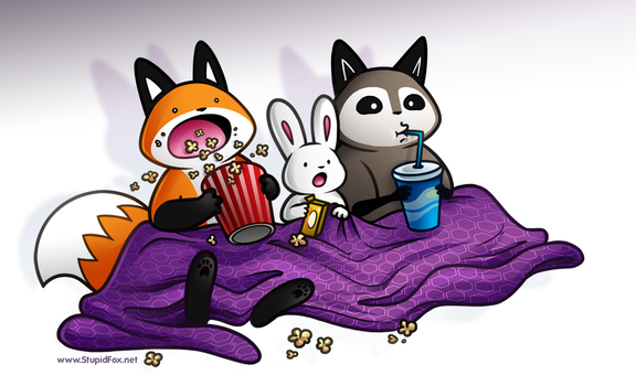 Movie Night by SilentReaper
