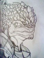 Mass Effect 3,Krogon by AZURA-FANG