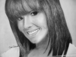Cheryl Cole Drawing by MsTemmii