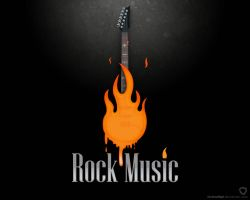 Rock Music by farshadfgd