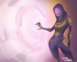 Tali'Zorah by Legal-Han