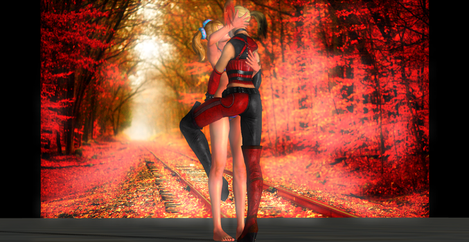 First time 3 [Harley Quinn and Juliet Starling] by AweSSoMe
