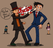 The Professor and The Attorney by BlackRayquaza1