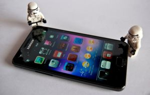 Stormtroopers and Galaxy S2 by lesa0208