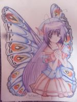 A Beautiful Butterfly by Robie-Chan