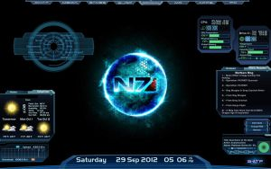 Desktop Rainmeter N7 by GuardianoftheForce
