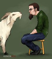 Beards that stare at goats by TheStink411