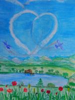 les ailes du coeur by angeloup