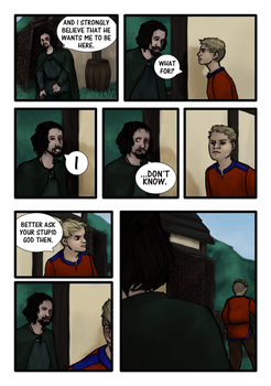 Vikings fan comic page six by Miagola