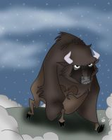 Junior the Buffalo by Disneycow82