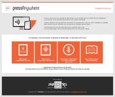 Pressanywhere Website 2013 by JFDC