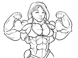 Thick Upper Body / additional content by ayanamifan