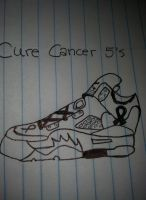 Cure cancer 5's by AnthonyLeAwsome