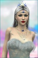 Glinda:Good Witch of the North by akulla3D