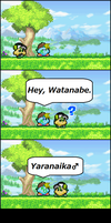 Roy and Watanabe by watannabe0125