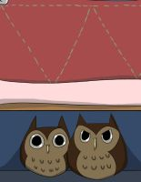 Owls Under The Bed by Zito-is-Neato