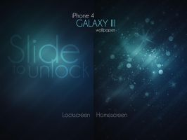 iPhone 4 Galaxy III Wallpaper by Martz90