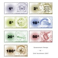 Queensmark Bank Notes by oNh
