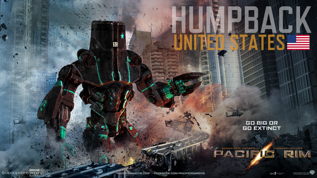 Pacific Rim-Custom Jeager:HumpBack by Animus325