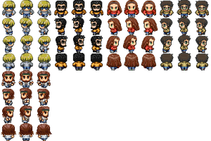 RPG Maker Vx - Me and Friends by simsim2212
