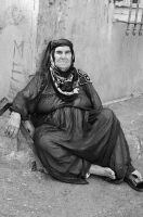Old Lady Portrait by TanBekdemir