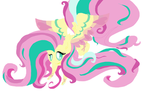 Rainbow Powered Fluttershy by angelstar000