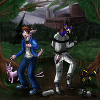 Rain on our Parade 3/6 by Keetah-Spacecat