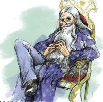 Dumbledore Portrait by jameson9101322
