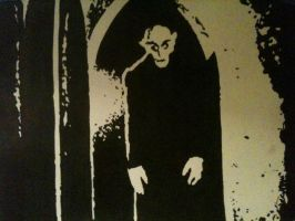 Nosferatu by chrisjamesart