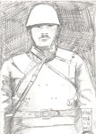 Japanese Officer 1932 by EddieVanShatner