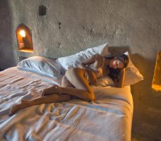 Cave life with Naya by photoport
