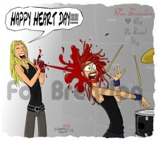 Dethklok: Vday Dethday by aznmodel