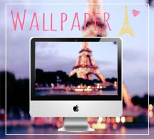 Wallpaper Paris  by KattyEditionss