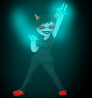 Terezi Rave Dance by peacebaby489