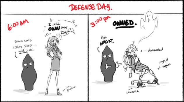 Defense Day by DreamerWhit
