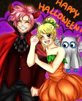 Halloween Nalu by manu-chann