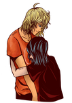 Nico and Will Solace by JinGi