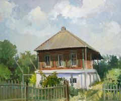 Cossack house by GRafuk