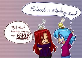 Second Semester Blues by jewelschan