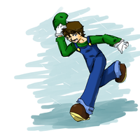 Luigi - just wanna have some fun by 12luigi
