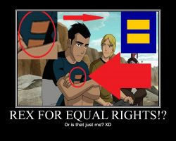 Gen.Rex: Rex for equal rights? by greyheart67