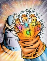 Infinite Thanos by statman71