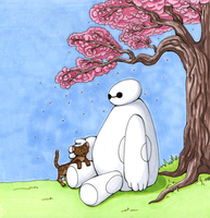 Making Friends (Baymax) by NothingSoul
